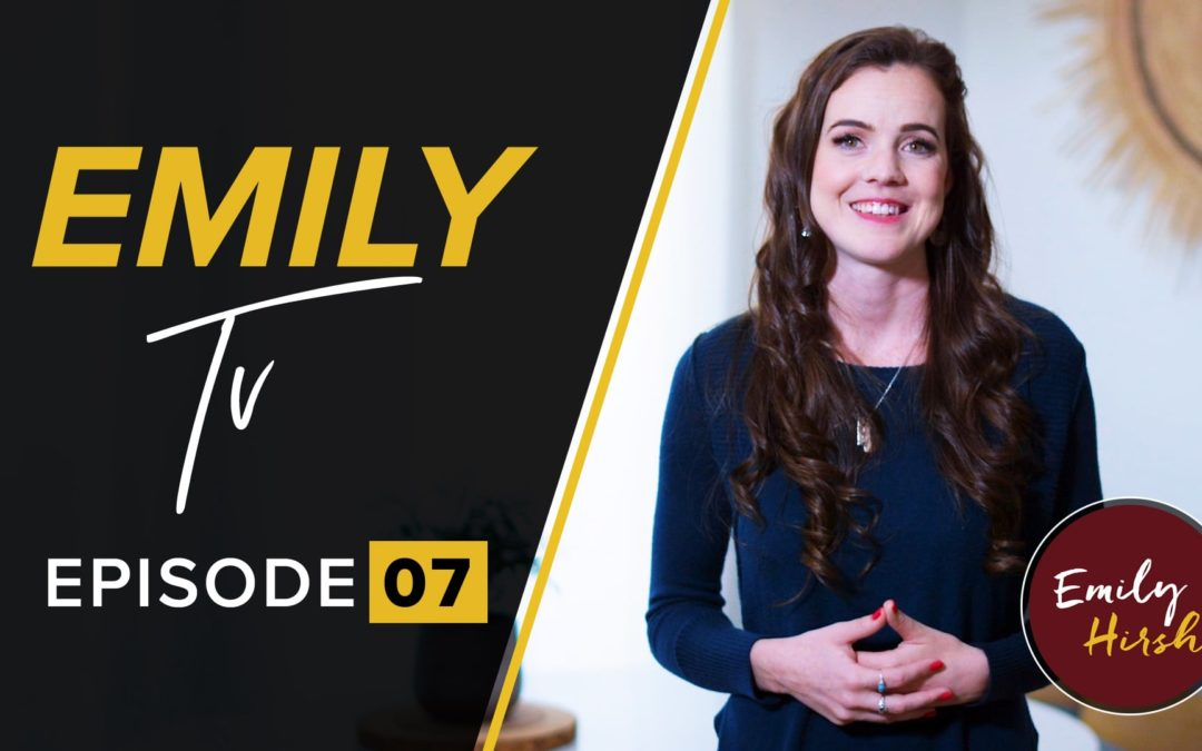 Ep 7: My Top 5 strategies to maximize your time every day