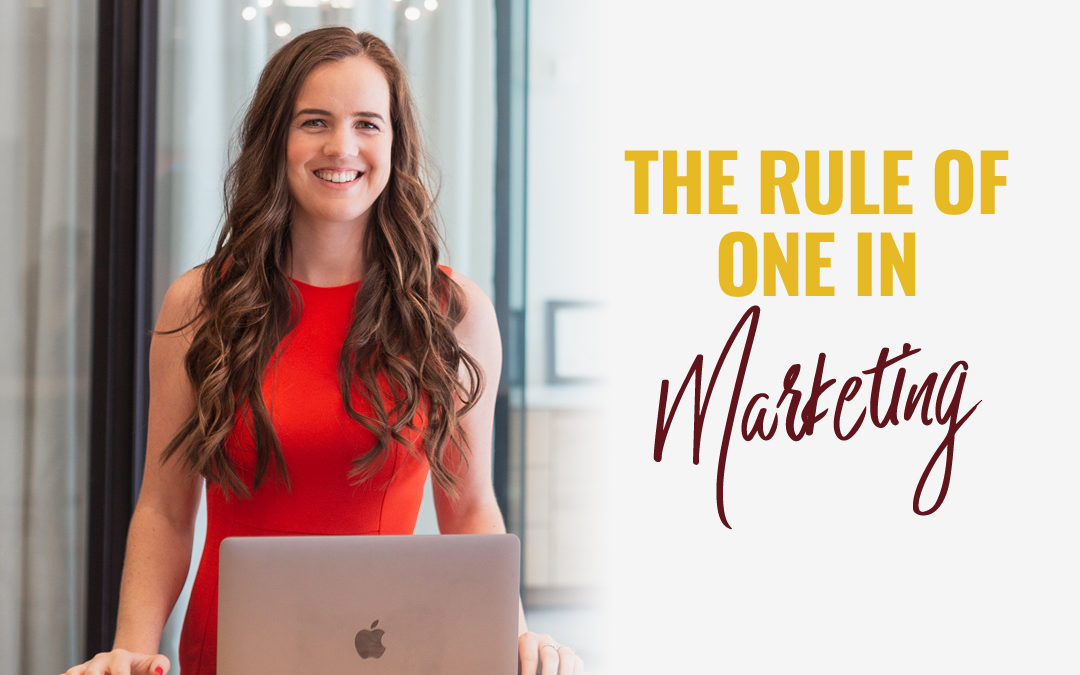 129- Marketing Simplified: The Rule of One