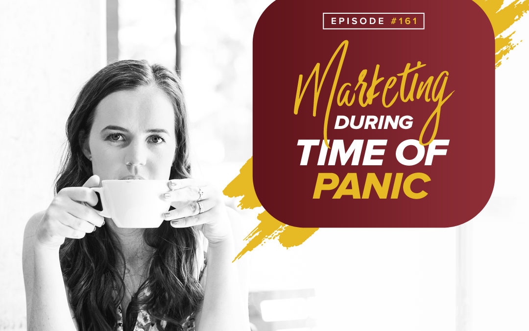 161 – Special Edition 2 – Marketing During A Time Of Panic